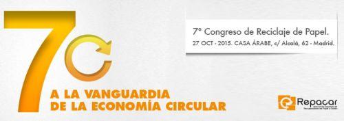 7º congreso de reciclaje de papel en Madrid