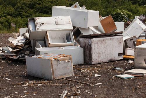 Fraude en el reciclaje de electrodomésticos