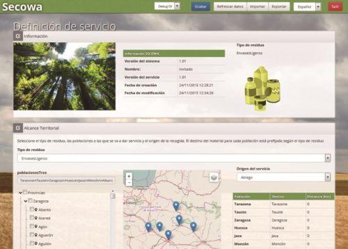 SECOWA, nuevo simulador de recogida selectiva de residuos