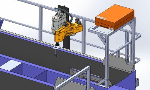 Un robot para clasificar los residuos