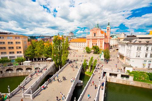 Ljubljana, capital europea ecointeligente