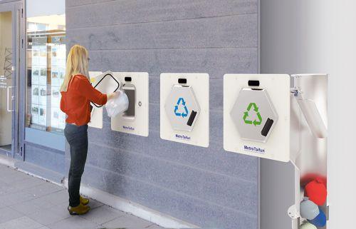 Suecia instala un sistema de recogida que controla cuánta basura genera cada habitante