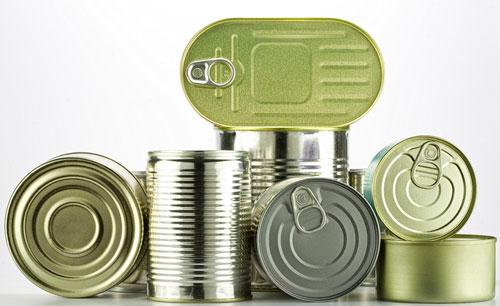 Europa recicla el 74,7% de sus envases metálicos