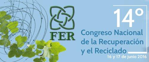 14 Congreso de la Recuperación y el Reciclaje previsto para junio