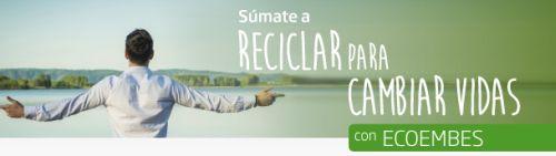 """Lyrsa colabora con """"Reciclar para cambiar vidas"""""""