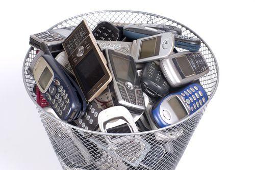 Opciones para reciclar nuestros móviles