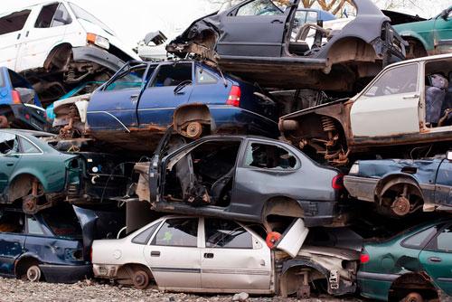 España recicla más del 84% de sus vehículos fuera de uso