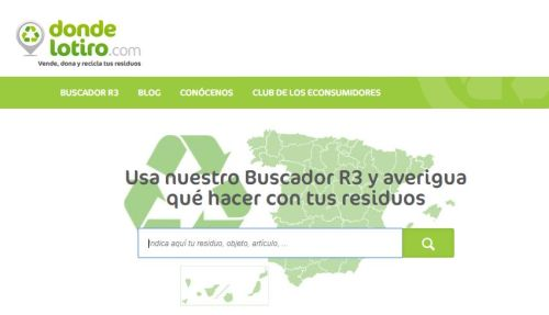 La plataforma Dondelotiro, ayuda para la gestión de residuos