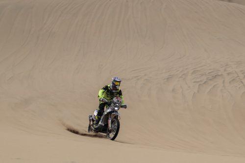 Fausto Mota, piloto patrocinado por Lyrsa en el Rally Dakar 2018