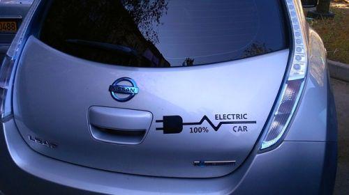 El reciclaje de baterías del Nissan Leaf sirve para iluminar un pueblo de Japón