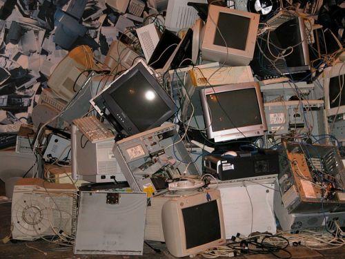 España suspende en reciclaje de chatarra electrónica