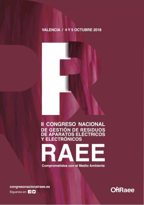 Valencia acogerá en octubre el segundo congreso nacional de gestión de RAEE