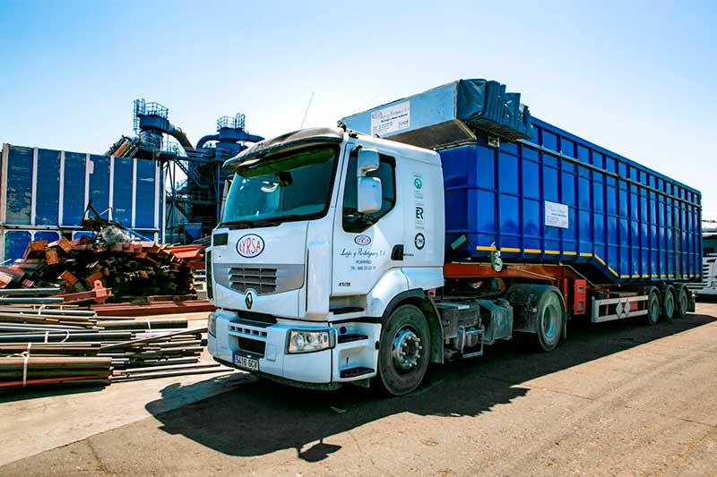 camion gestion residuos
