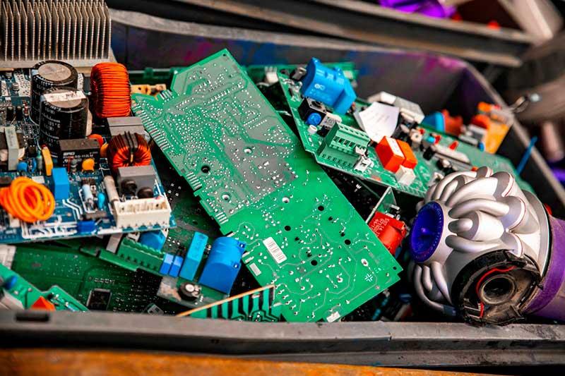 reciclaje de placas