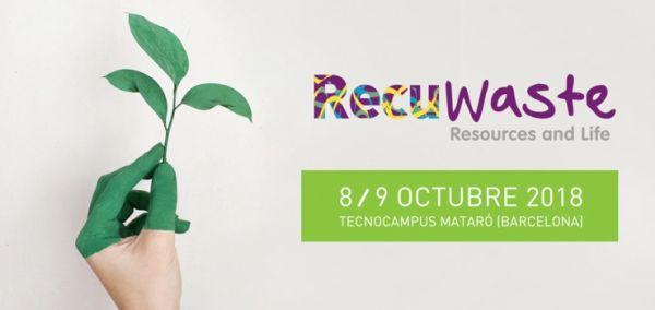 La nueva edición de Recuwaste tratará sobre la gestión de recursos municipales