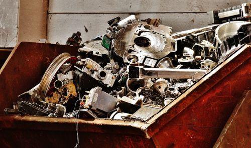 Descienden los residuos metálicos reciclados en España