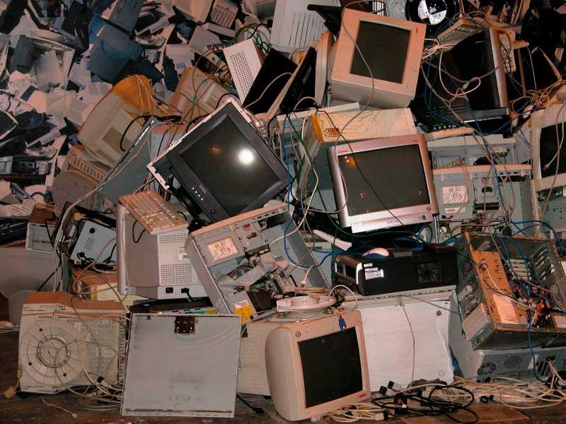 La basura electrónica (RAEE) sigue siendo un problema en España