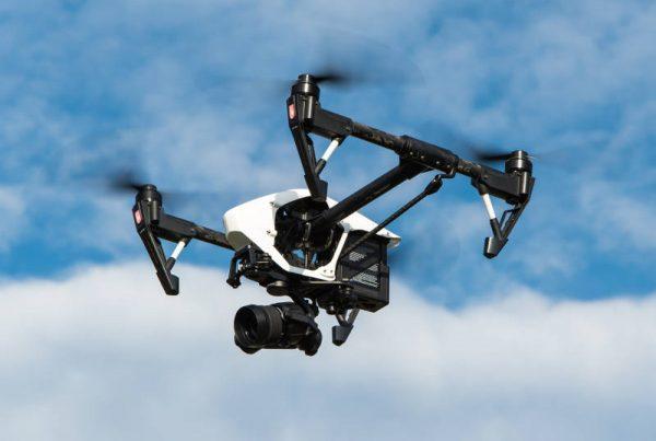 Drones en vertederos