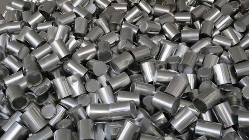 aluminio metales reciclables